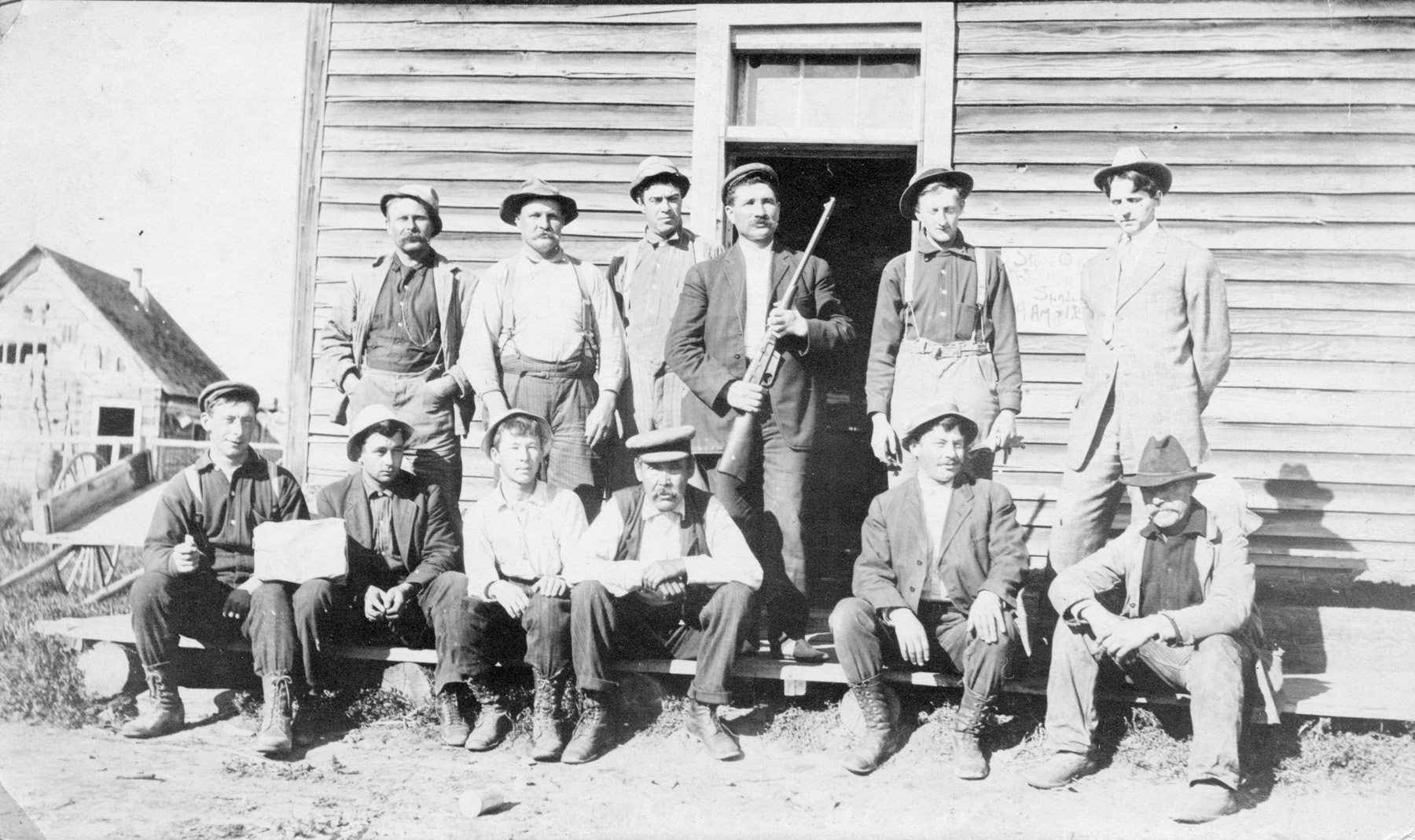 Trappers, Hunters and Cannery workers